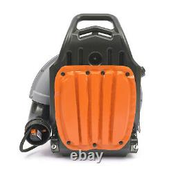 2 Stroke 2.7KW 65CC Grass Blower Gas Powered Home Backpack Gasoline Leaf Blower