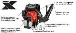 2020 ECHO PB-8010T 79.9 cc Gas Backpack Blower Professional Grade