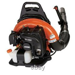 233 MPH 651 CFM 63.3cc Gas Backpack Leaf Blower with Tube Throttle