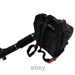 3.2HP 52CC Gas Leaf Backpack Powered EPA Debris Blower 2Stroke withPadded Harness