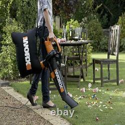 3-in-1 Blower Mulcher Yard Vacuum backpack lawn garden outdoor vac leaf grass
