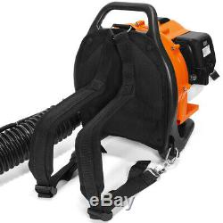 31CC Gas Backpack Leaf Blower 2 Stroke Powered Debris with Padded Harness EPA