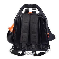 32CC 2Stroke Powered Gas Backpack Leaf Blower with Padded Harness EPA