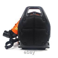 42.7CC Gas Leaf Backpack Powered Debris Blower 2 Stroke+Padded Harness 720/h US