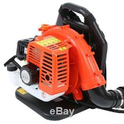 51.7 cc Backpack Gas Leaf Blower Two-stroke Air-cooled Garden Cleaning Blower