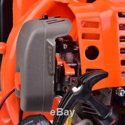 52CC 2-Stroke Gas Leaf Backpack Powered Blower EPA Debris 3.2HP withPadded Harness