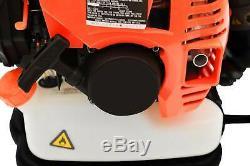 52CC 3.2HP 2Stroke Gas Backpack Leaf Blower Powered Debris Padded Harness US