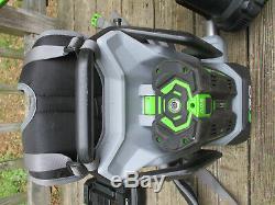 56V EGO Backpack Leaf Blower Lithium Ion Cordless 5 Ah Battery Charger 600 CFM