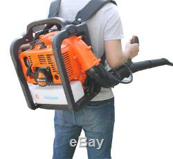 59 CC 2-Cycle Petrol Backpack Leaf Blowers Snow Blowers Powerful Lightweight New