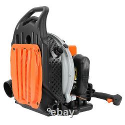 63CC 3HP High Performance Gas Powered Back Pack Leaf Blower 2 Stroke