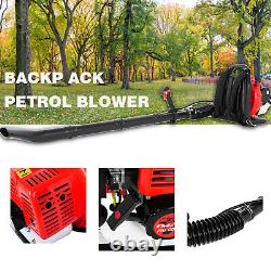 65CC 3.2HP 2-Stroke High Performance Gas Powered Back Pack Leaf Blower 2.3KW