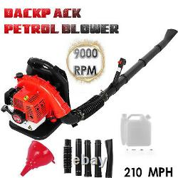 65CC Commercial Gas Leaf Blower Backpack Gas Powered Lawn Blower 2-Strokes