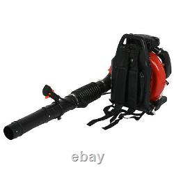 80CC 3.5KW 2-Stroke High Performance Gas Powered Back Pack Leaf Blower US Stock