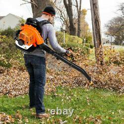 850CFM Backpack Leaf Blower Gas Power 80CC 2-stroke Powerful 2 Year Warranty