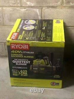 BRAND NEW Ryobi RY40440 40V Lithium Cordless Backpack Blower