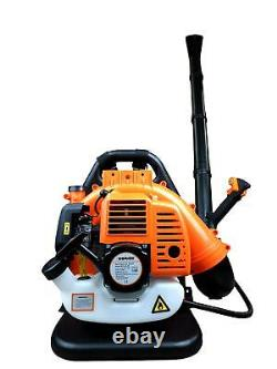 Back Pack Leaf Blower 43cc Professional High Power Easy Start Turbo Nozzle