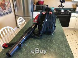 Back pack leaf blower red max EBZ5150