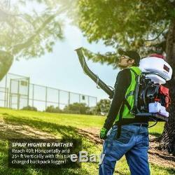 Backpack Fogger, Sprayer, Duster, Leaf Blower 3.7 Gallon 3HP Gas 2 STROKE 52CC