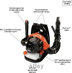 Backpack Leaf Blower 215 MPH 510 CFM 58.2cc Gas 2-Stroke Cycle with Tube Throttle