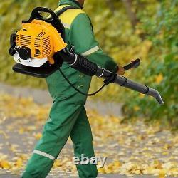 Backpack Powerful Blower Leaf Blower 80CC 2-stroke Motor Gas 850 CFM US 1.7L