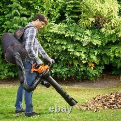 Black and Decker Garden Vacuum and Leaf Blower Back Pack Collection BEBLV300-GB