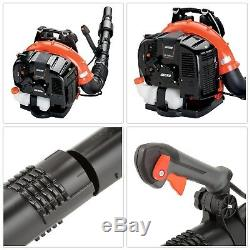 Comercial Gas Backpack Leaf Blower Heavy Duty Lightweight Weather Resistant 214M