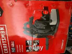 Craftsman Backpack Leaf Blower 46cc 2-Stroke Powered Debris withPadded Harness EPA
