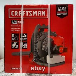 Craftsman CMXGAAH46BT 46cc 2-Cycle Gas Backpack Blower NEW