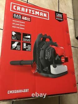 Craftsman CMXGAAH46BT 46cc 2-Cycle Gas Backpack Blower- New