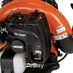 ECHO 233 MPH 651 CFM 63.3Cc Gas 2-Stroke Cycle Backpack Leaf Blower With Tube