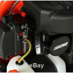 ECHO 233 MPH 651 CFM 63.3cc Gas Backpack Leaf Blower Tube Throttle Padded
