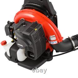 ECHO 63.3cc Gas 2-Stroke Cycle Backpack Leaf Blower with Tube Throttle
