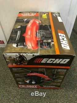 ECHO Backpack Leaf Blower 215MPH Gas Tube Throttle Adjustable PB-580T