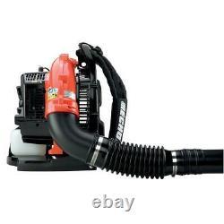 ECHO Backpack Leaf Blower 58.2 cc Gas 517 CFM 2-Stroke Cycle Tube Throttle