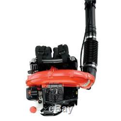 ECHO Gas Backpack Leaf Blower Pro Durable Powerful Vented 2 Stroke PB-580T
