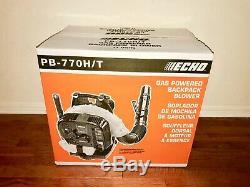 ECHO PB-770H 63.3cc GAS POWERED BACKPACK LEAF BLOWER HIP THROTTLE BRAND NEW
