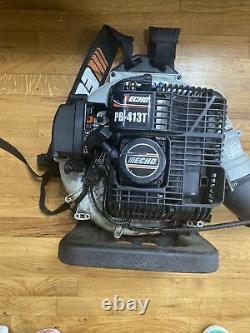 ECHO Pb-413T Gas Powered Backpack Leaf Blower 44.0 CC 175 MPH MAXIMUM Air Speed