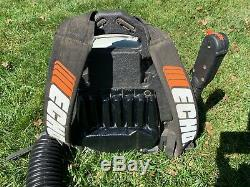 Echo Backpack Gas Powered Leaf Blower PB-413H 2 Stroke Only used 3 times