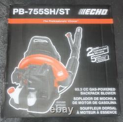 Echo Gas Powered Back Pack Leaf Blower 63.3cc Pb-755sh/st