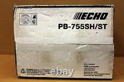 Echo Gas Powered Backpack Leaf Blower 63.3CC PB-755SH/ST (NEW FREE SHIPPING)