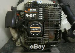 Echo Gas Powered Backpack Leaf Blower PB-403T