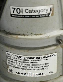 Echo Model PB-403T 2 Stroke Engine Gas Powered Backpack Leaf Blower