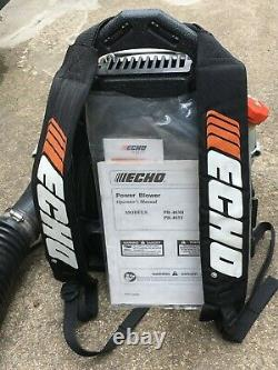 Echo PB-403T Back Pack Gas Powered Leaf Blower 2 Stroke 1 Owner Local Pickup