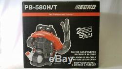 Echo PB-580H/T 58.2cc Gas-Powered Backpack Leaf Blower