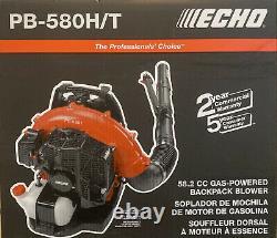Echo PB-580H/T Backpack Blower