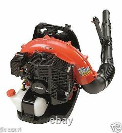 Echo PB-580T 58.2 CC Back Pack Blower with Tube Mounted Throttle, 510 CFM