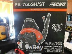 Echo PB-755SH-ST 63.3CC GAS BACKPACK LEAF BLOWER