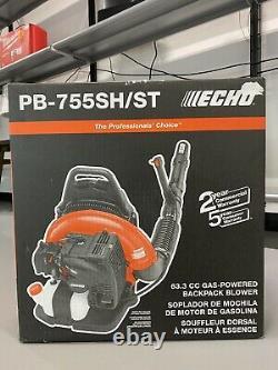 Echo PB-755SH/ST backpack leaf Blower gas pb755st 233 mph 2 stroke new 63.3cc