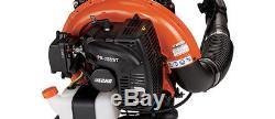 Echo PB-755ST Backpack Blower Leaf Grass 5 Year Warranty 63.3 651cfm 233mph NEW