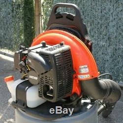 Echo PB-755ST Gas Powered Backpack Leaf Blower Commercial Professional Nice